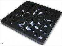 Решетка пластик. к дождеприемнику черная  1,5 т (02710230)