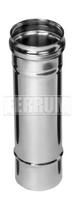Дымоход 1,0м (430/0,5 мм) Ф100