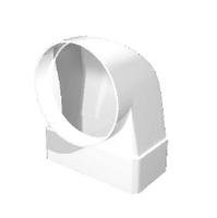 """Соединитель """"ERA"""" угловой 90° плоского воздуховода с фланцем (55х110/100) (511СК10ФП) арт 50309"""
